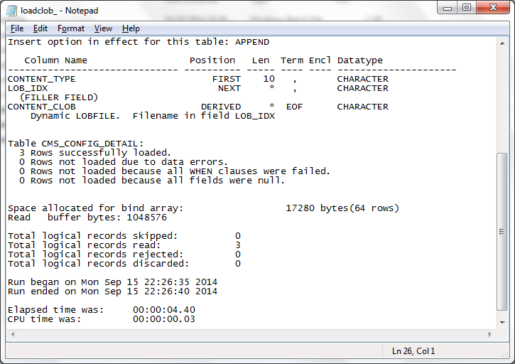 Deep data mining blog: five ways of loading text files into oracle.